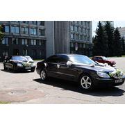 Заказ VIP такси в Сумах Мерседес s500 фото