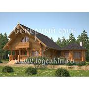 Деревянные дома ручной рубки дома в Симферополе