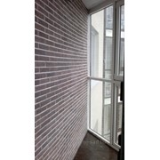 Облицовка стен плиткой, искусственным камнем фото