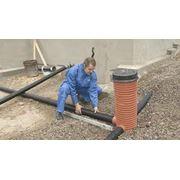 Услуги по монтажу дренажных систем реконструкция дренажных систем устройство дренажной системы ремонтные работы по дренажной системе. фото