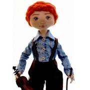 Мальчик-скрипач фото
