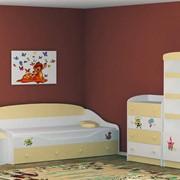Мебель детская коллекция Золотой ключик фото