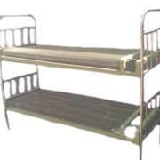 Кровать двухъярусная с панцирной сеткой фото