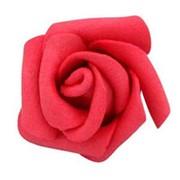 Декор свадебный Роза красная 3см 10шт фото