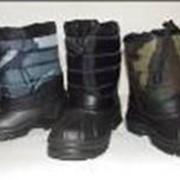 Производство обуви из ЭВА Детские сапоги зимние разных моделей и цветовой гаммы фото