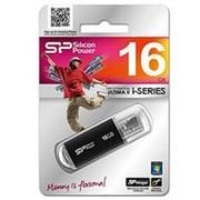 Флэш-карта 16GB SILICON POWER ULTIMA II BLACK USB 2.0 фото