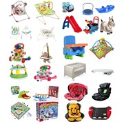 Электрокачели, автокресла, игрушки фото