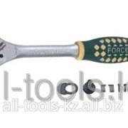 Трещотка с резиновой ручкой - 24 зуб L=255 мм 1/2 Код:80243 фото
