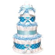 """Торт из подгузников """"Blue"""" фото"""