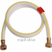 Шланг газовый резиновый белый 1/2 дюйм ВВ 0,8м, арт.20100 фото
