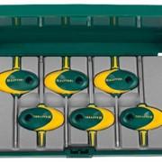 Набор KRAFTOOL Ключи EXPERT Мини TORX для точных работ,CrV сталь, эргономич. двухкомпонент. рукоятка,Т7-Т20, 6 пред. Артикул: 27440-H6