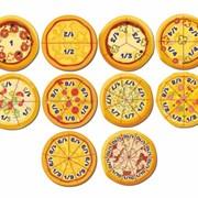Развивающая игра Дроби-пицца фото