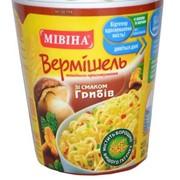 Макароны Лапша Мивина 60г термостакан со вкусом грибов фото