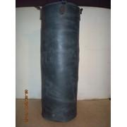 Груша боксерская высота 1,2 м, диаметр 0,4 м из натуральной ременной кожи толщиной 4мм фото