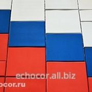 Акустическая панель ЭхоКор Бюджетная, в орнаменте фото