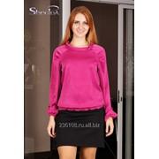 Блуза 4504 Фуксия цвет фото