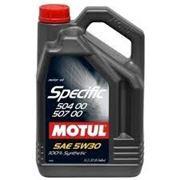 Моторное масло MOTUL SPECIFIC 504.00-507.00 5л. 5W30 синтетика фото