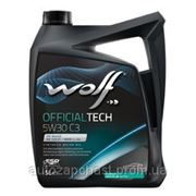 Масло Wolf 5w30 60л. Official tech C3 фото