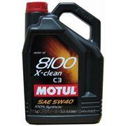 Motul 8100 X-clean 5W-40 - C3 5L фото