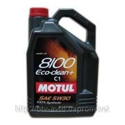 Motul 8100 Eco-clean 5W-30 5L фото
