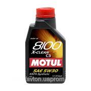 Моторное масло MOTUL 8100 X-clean 5w30 , 1 л. синтетика фото