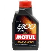 Моторное масло MOTUL 8100 X-lite 0w30 , 1 л. синтетика фото