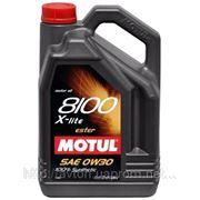Моторное масло MOTUL 8100 X-lite 0w30 , 5 л. синтетика фото