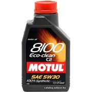 Моторное масло MOTUL 8100 ECO-Clean 5w30 , 1 л. синтетика фото