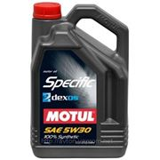 Моторное масло MOTUL SPECIFIC DEXOS2 5w30 , 5л. синтетика фото