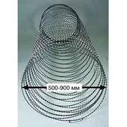 СББ (Спиральный барьер безопасности «Егоза») Ф 500 мм, 600 мм в бухтах по 10 м. п. и другие. фото