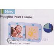"""Набор из гипса Беби Арт """"Phospho Print Frame"""" фото"""