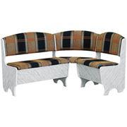 Скамья угловая с гребнем Наборы мебели для кухни угловые мягкие фото