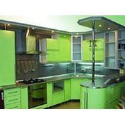 Кухня с радиусами