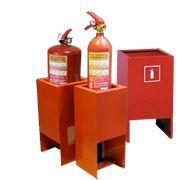 Подставки для огнетушителей напольные фото