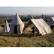 Аренда средневековых шатров фото