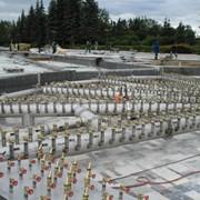 Строительство фонтанов. фото