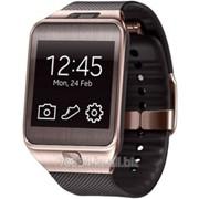 Часы Samsung SM-R380 Galaxy Gear2, (коричневый) Brown фото