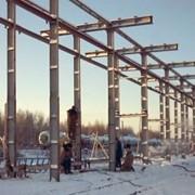 Монтаж и демонтаж конструкций транспортных галерей и технологических конструкций фото