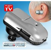 Слуховой аппарат - усилитель звука Micro Plus (Микро Плюс) фото