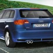 Задний диффузор Audi A3 Sportback фото