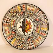 Тарелка декоративная настенная из Перу фото