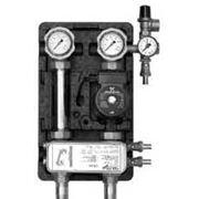 Cолнечная станция М ТО 16 пластин с насосом Wilo Stratos-Para 25/1-7 с разделительным теплообменником