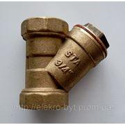 Фильтр для воды Ду 20 латунный фото