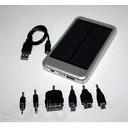 Солнечное зарядное устройство с батареей 5000 mAh фото