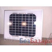 Фотомодуль 5Вт 12В (солнечная панель, солнечная батарея) фото
