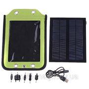 Зарядное устройство на солнечной батарее для телефонов, MP3, MP4 плееров фото