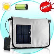 Солнечное Зарядное устройство, Сумка с 2200 мАч Аккумулятор для iPhone, iPad, HTC, LG, Samsung, Более фото