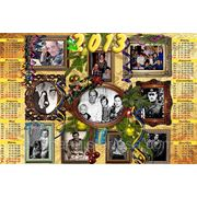 Фотоколлаж Календарь фото