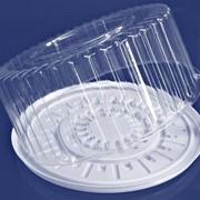 Пластиковая упаковка для тортов,кондитерских изделий,салатов. фото