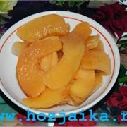 Цукаты из плодов айвы фото